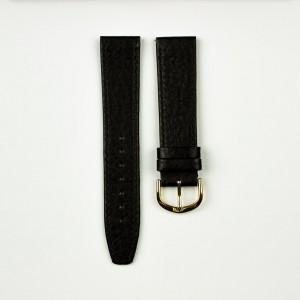 horlogeband olifantenprint zwart