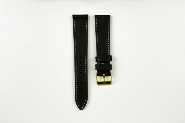 horlogeband retro zwart