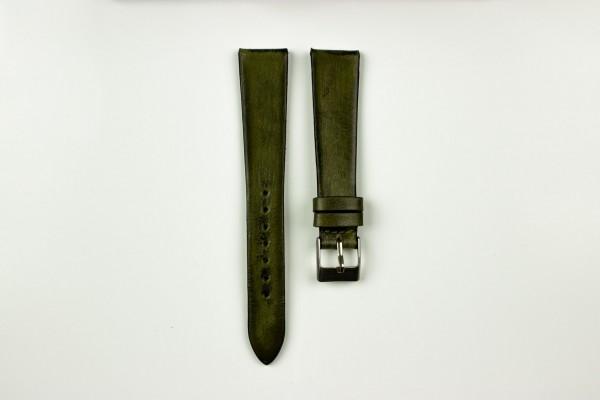 Horlogeband vintage groen