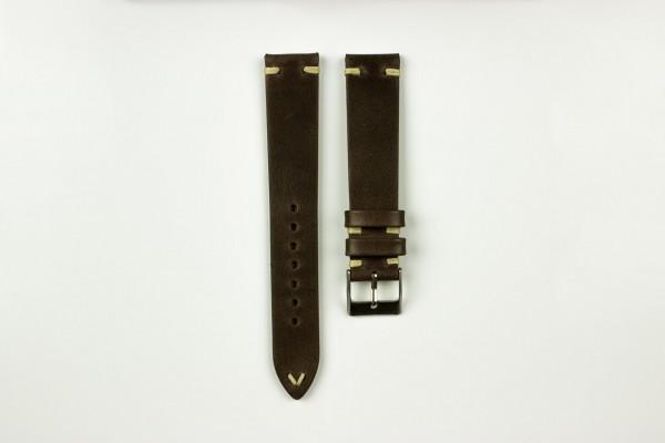 horlogeband oldskool bruin