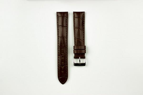 horlogeband croco bruin