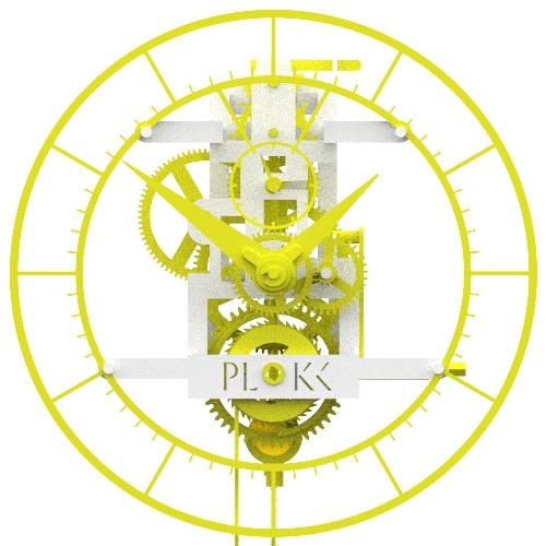 PLOKK 3D geprinte slingerklok original